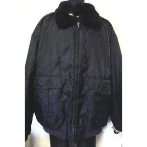 Tact Squad Police Security Faux Fur Jacket 6XL EC